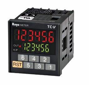 TC-V□Sシリーズ 48角 1段プリセット機能付き回転計