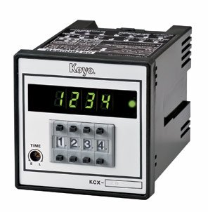 KCX-□DMシリーズ 72角停電保持機能付き加算形 1段プリセットカウンタ