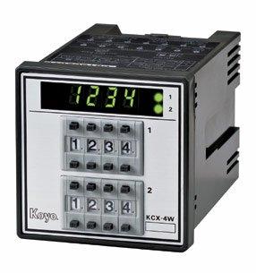 KCX-□WMシリーズ 72角停電保持機能付き加算形 2段プリセットカウンタ