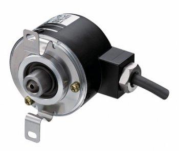 TRD-NH-RZVWシリーズ インクリメンタル Φ50 中空軸形 堅牢型 ABZラインドライバー出力 電源DC5V / ロータリエンコーダ【3日生産】
