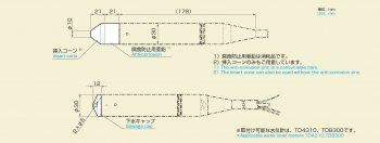 水位計TD8300/4310用 付属品 / 株式会社ジェイテクト【30日出荷】