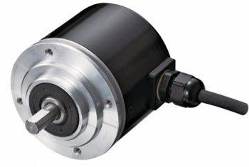 TRD-Kシリーズ / Φ78 アブソリュート形 ロータリエンコーダ 耐塵・防噴流 ケーブル横出形