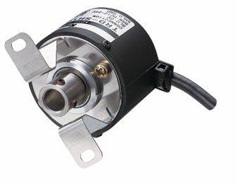 TRD-SH□Vシリーズ インクリメンタル Φ38 中空軸形 ABZラインドライバ出力 電源DC5V / ロータリエンコーダ