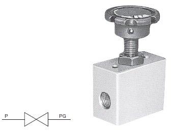 圧力計用ストップ弁 PG (S、SAタイプ) / 豊興工業株式会社