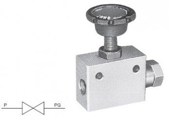 圧力計用ストップ弁 PG (SBタイプ) / 豊興工業株式会社