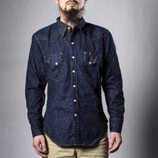 BONCOURA ウェスタン シャツ デニム (Western shirt denim)