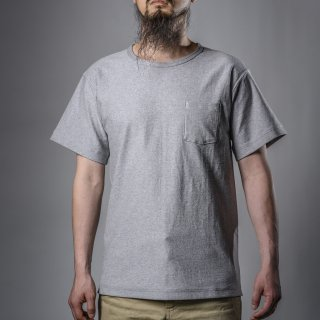 pocket tee gray no seam body