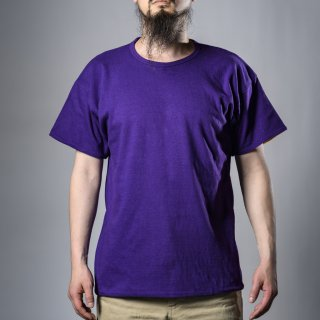 Reversible Tee Purple Yellow Loop Wheeled