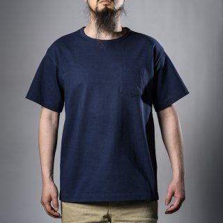 Heavy Weight Pocket Tee Navy