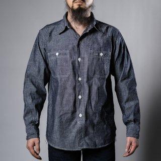 BONCOURA ワークシャツシャンブレ (work shirt chambray)