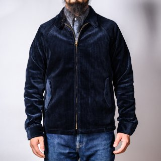 スイングトップ 太畝コール天 ネイビー (dog ear jacket 8 wale corduroy navy)