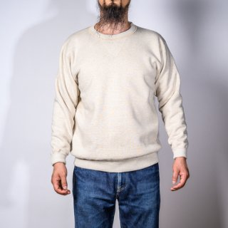 両Vトレーナー オートミール Loop Wheeled V Sweater Oatmeal