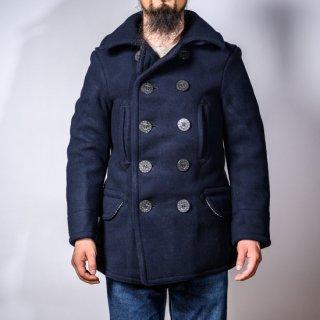 P-コート カシミアメルトン ネイビー(Pea coat cashmere melton navy)