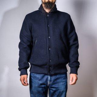 スポーツジャケット カシミアメルトン ネイビー(sports jacket cashmere melton navy)