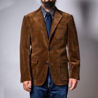 テーラードジャケット 太畝コール天 ブラウン 新型 (tailored jacket 8 wale corduroy brown )
