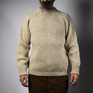 フィッシャーマンセーター ナチュラル シェットランド fisherman sweater natural Shetland