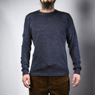クルーネックセーター グレー  crew neck sweater gray