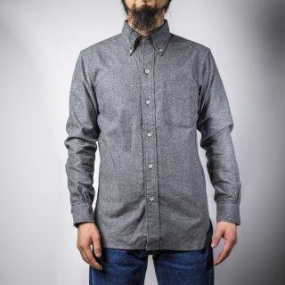 BONCOURA BD シャツ コットンフラノ グレー (BD shirt denim cotton flannel gray)