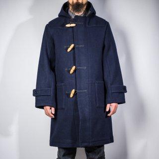 ダッフルコート カシミアメルトン ネイビー(duffle coat cashmere melton navy)