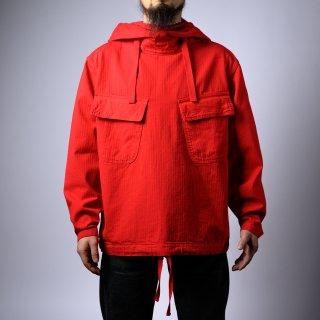 サルベージ パーカー レッド(salvage parka red)