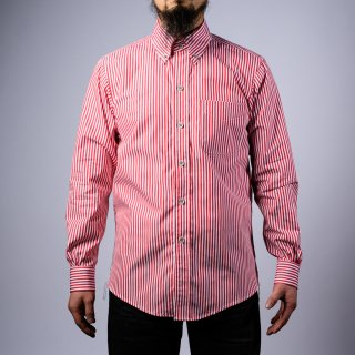 BONCOURA BD shirt London stripe red