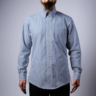 BONCOURA BD Shirt London Stripe Blue