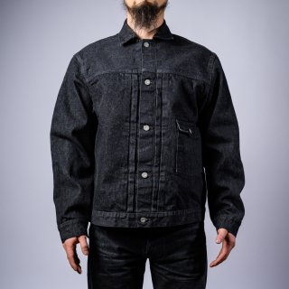Denim jacket first type black 9th anniversary model