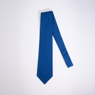 BONCOURA tie blue indigo
