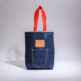 BONCOURA denim tote bag