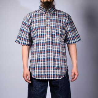 Pullover Shirt Madras Plaid