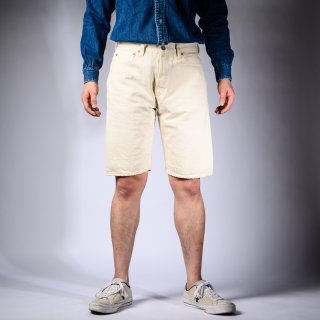 short pants denim white