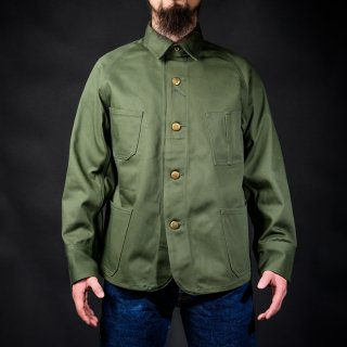 Coverall English Twill Olive