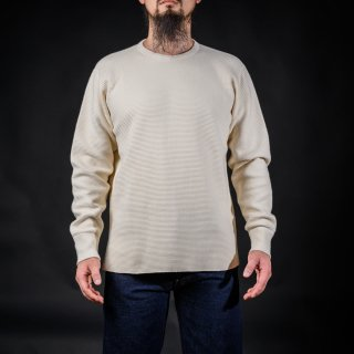 Heavy Weight Thermal Long Sleeves White