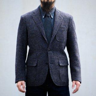 テーラードジャケット 手織りツイード サンドスター (Tailored Jacket Hand Woven Tweed Sand Star)