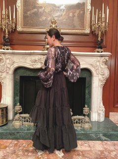『The Tuxedo Tough 〜タキシード2wayスカート・タフ』 fishtail  skirt