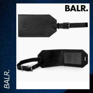 BALR. 【ボーラー】 トラベル キャリー スーツケース レザー ラゲッジタグ