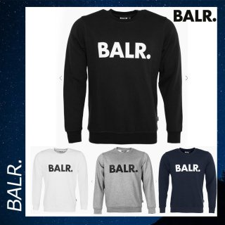BALR. 【ボーラー】ブランド ロゴ クルーネック スウェット トレーナー<img class='new_mark_img2' src='//img.shop-pro.jp/img/new/icons29.gif' style='border:none;display:inline;margin:0px;padding:0px;width:auto;' />