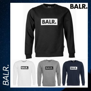 BALR. 【ボーラー】 クラブ ロゴ クルーネック スウェット トレーナー<img class='new_mark_img2' src='https://img.shop-pro.jp/img/new/icons29.gif' style='border:none;display:inline;margin:0px;padding:0px;width:auto;' />