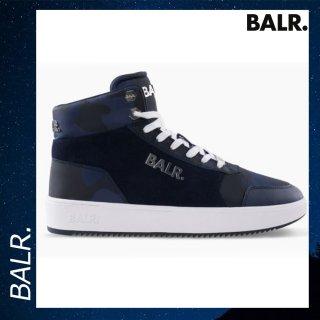 BALR. 【ボーラー】 オリジナル ブランド スニーカー カモ ブルー シューズ 靴