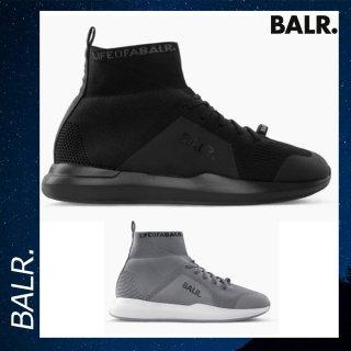 BALR. 【ボーラー】 EEプレミアム ソックス スニーカー V4 ブラック グレー 靴