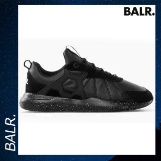 BALR. 【ボーラー】 LIFEOFABALR ランナーズ ブラック スニーカー 靴 シューズ ロゴ