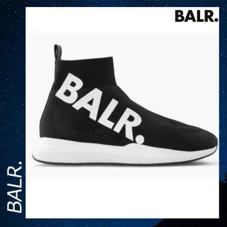 BALR. 【ボーラー】 EEプレミアム ソックス スニーカー 靴 ブラック シューズ