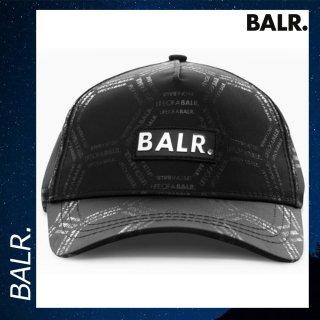 BALR. 【ボーラー】 LOAB ヘキサゴン クラシック キャップ ブラック キャップ