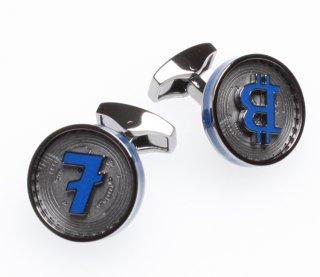 TATEOSSIAN『タテオシアン』カフリンクス 正規取扱店 CF0119-Gunmetal Blockchain