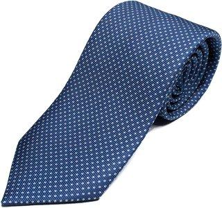 DRAKE'S『ドレイクス』英国製ネクタイ 正規取扱店 DRAKE'S-E5080N-06871-3-50ozブルードット