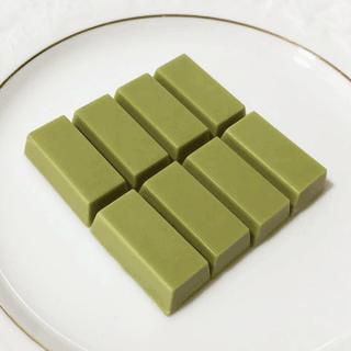 ひと口チョコ カカオ42% 抹茶ラテ(無添加乳化剤不使用)