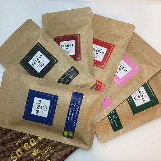 タブレットチョコレート 6種 Gift Box(無添加乳化剤不使用)