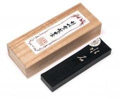 桂林堂 青墨 水石 1.5丁型  昭和年代製