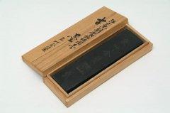 古墨 江戸末期製純松烟墨 気叶金蘭