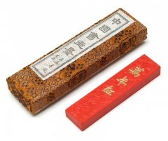朱墨 萬年紅 上海墨厂